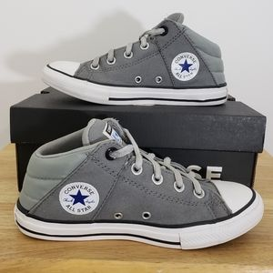 Converse All Star grey sz 3 kids